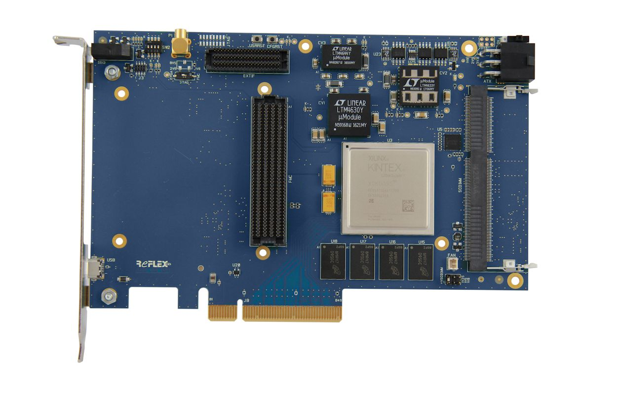PCI Express 3 0/2 0 FPGA Development Board - Xilinx Ultrascale